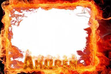 На каждый день. Рамка, фотоэффект: Брутальная открытка для Андрея. Фоторамка для Андрея. Огненная рамка, огненные буквы. Андрей, Андрюша.