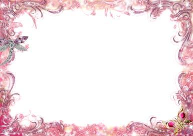 Рамки для текста. Рамка, фотоэффект: Розовый узор. Нежная рамка для в лилово-розовой гамме.