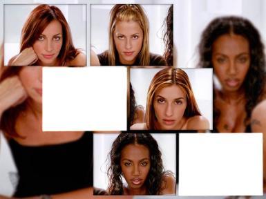 Звезды, журналы. Рамка, фотоэффект: Фотомодели. Ваше лицо среди лиц моделей.