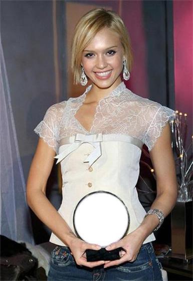 Звезды, журналы. Рамка, фотоэффект: Фото со звездой. Подставьте свою фотку в эту рамку - получите фото с голливудской актрисой!