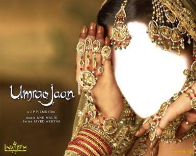 День смеха. Восточная красавица. Шаблон для фотошопа. Индийское кино.
