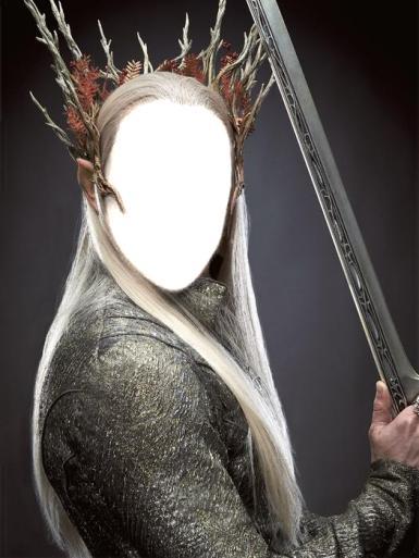 День смеха. Король эльфов. Фотомонтаж для мужчин.