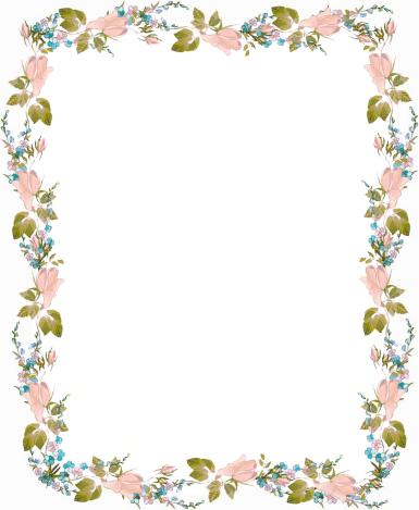 Рамки для текста. Рамка, фотоэффект: Нежность цветов. Рамка для оформления текста