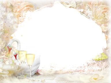 Свадебные. Рамка, фотоэффект: свадьба ассоциации. Лебеди, бокалы, жемчуг, свадьба, романтика, молодожены, любовь, праздник, светлый праздник, чистота, семейное счастье