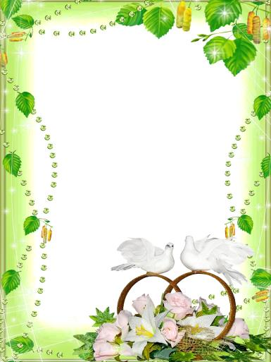 Свадебные. Рамка, фотоэффект: сценарий свадьбы. хорошая свадебная примета, молодожены. свадьба, торжество, супруги, кольца, голуби, Какое это огромное счастье — любить и быть любимым.  Счастлив тот, кто считает себя счастливым.