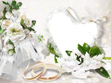 Свадебные. Рамка, фотоэффект: обряд, сопровождающий заключение брака. Свадебные поздравления и пожелания молодым, хорошая свадебная примета, молодожены. свадьба, торжество, супруги, кольца, голуби, В семейной жизни самый важный винт — это любовь.