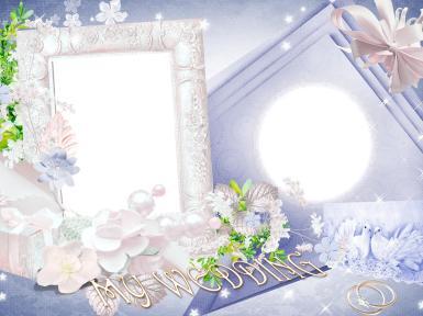 Свадебные. Рамка, фотоэффект: горько. проведение свадьбы, прекрасное событие в жизни, свадебные поздравления и пожелания молодым, хорошая свадебная примета, молодожены. свадьба, торжество, супруги, кольца, моя свадьба