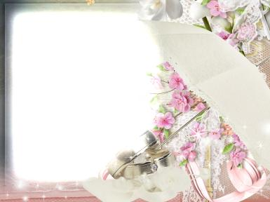 Свадебные. Рамка, фотоэффект: свадьба.  пела и плясала