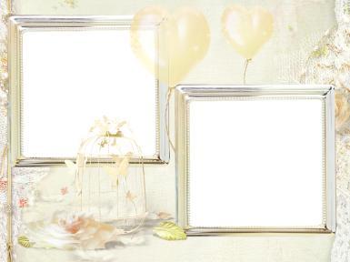 Свадебные. Рамка, фотоэффект: Незабываемая свадьба. это сказочное событие