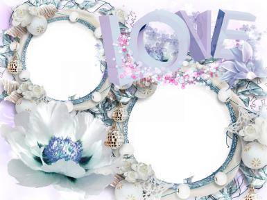Свадебные. Рамка, фотоэффект: love. торжество