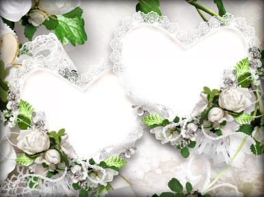 Свадебные. Рамка, фотоэффект: украшение. драгоценности