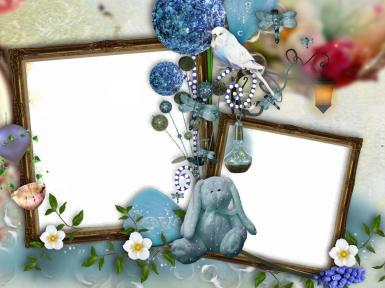 Свадебные. Рамка, фотоэффект: love. два фото