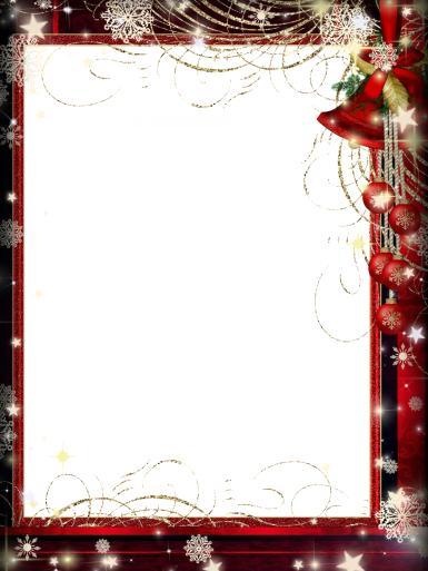 Новый год. Рамка для новогодних фото. Простая красная рамка, новогодняя фоторамка, елочные игрушки, гирлянды.