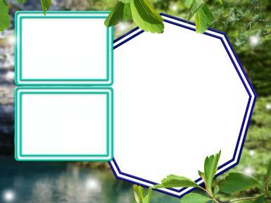 Фигурные рамки. Рамка, фотоэффект: Тройная фоторамка. Многоугольная, восьмиугольная фоторамка. Прямоугольные фоторамки. Природа, лес, пруд, река, озеро. Фотографии с отдыха. Выходные, отпуск, пикник, уик-энд.