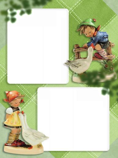 Прочие детские рамки. Рамка, фотоэффект: Пастух и пастушка с гусями. Двойная фоторамка. Фарфоровые пастух и пастушка. Гуси. Ганс и Гретель. Детская фоторамка. Две фотографии в рамке.