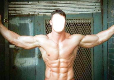 Мужские. Рамка, фотоэффект: Бодибилдинг. Коллаж, фотомонтаж для мужчин. Бодибилдер. Фотоприкол. Развитая мускулатура, бицепсы, кубики пресса. Качок.