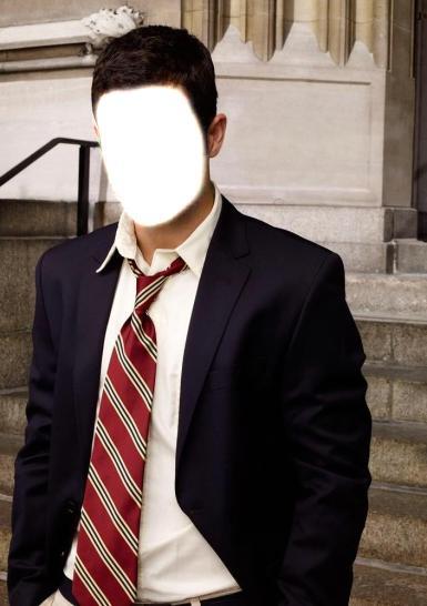 Мужские. Рамка, фотоэффект: Мужчина в галстуке.