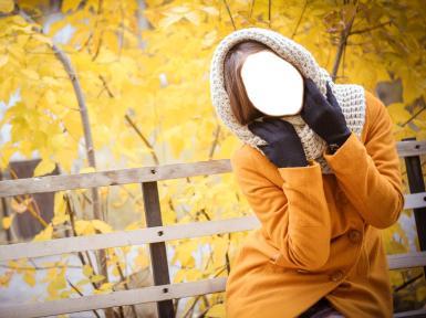 Женские. Рамка, фотоэффект: Осень.