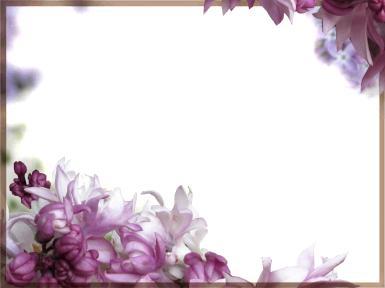 Синие, фиолетовые. Рамка, фотоэффект: Цветочная рамка. Красивые, фиолетовые цветы.