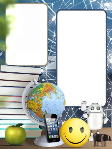 Школьные рамки. Рамка, фотоэффект: День знаний. Фоторамка к празднику