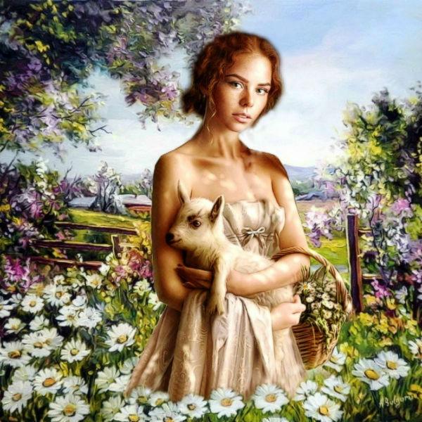В саду... Светлана Олейник