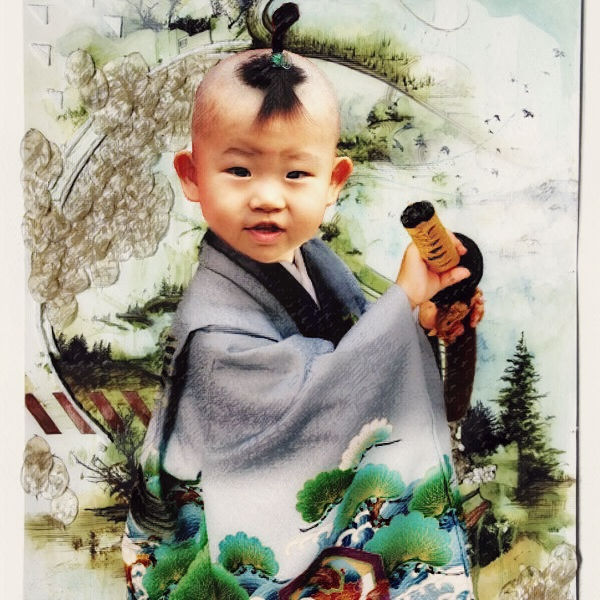 Маленький самурай...