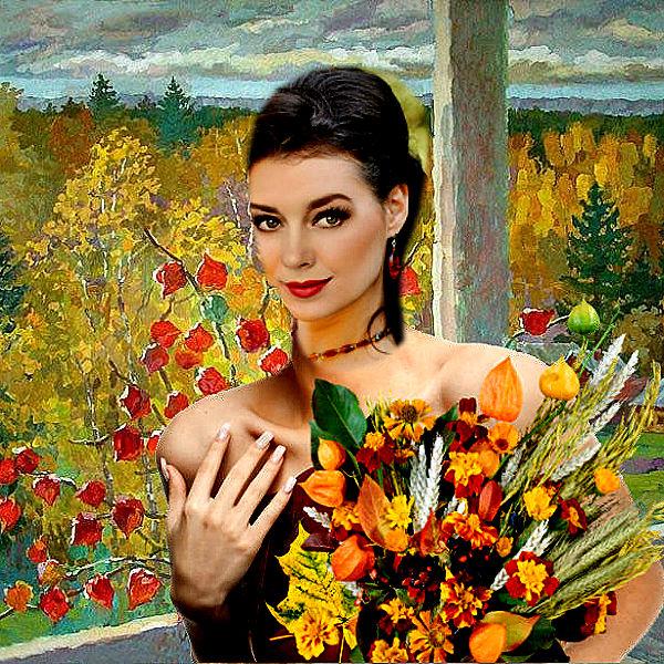 КРАСКИ ОСЕНИ Олька Калинина (Финогеева)