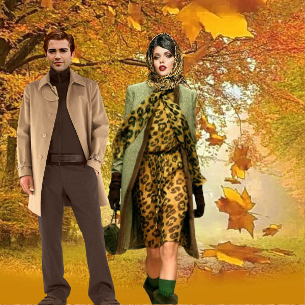 Осенняя прогулка . тамара переудина(вольвак)
