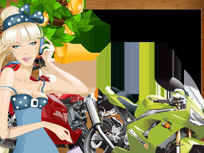 фоторамки с мотоциклами потому что