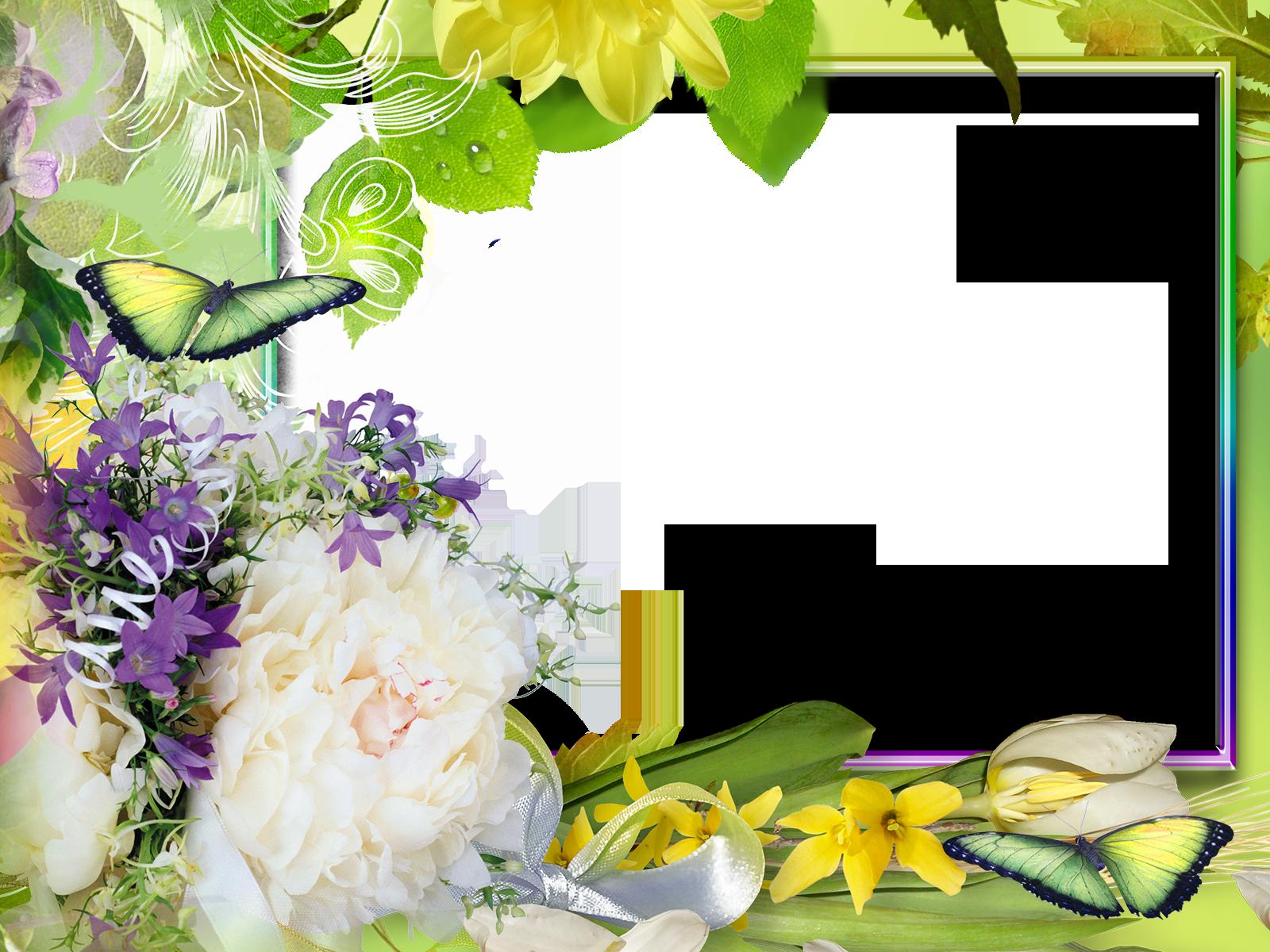 Фотошаблон рамочки на траве черный, сделать
