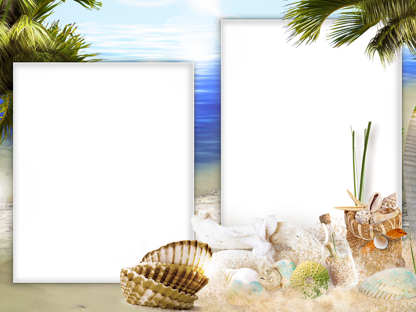 Фото рамки для фотографий я на море