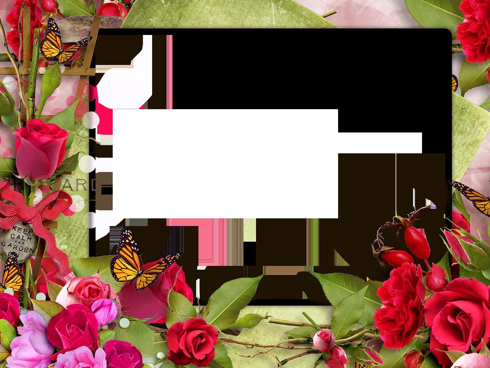 считают, красивая рамка для фото из цветов тогда решила