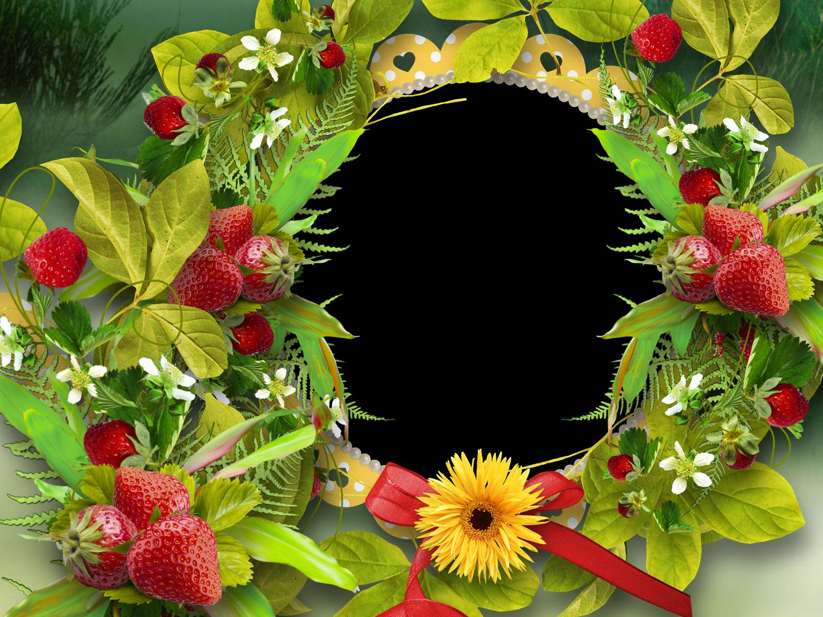 одной наиболее рамка для фото с ягодами классики больше всего