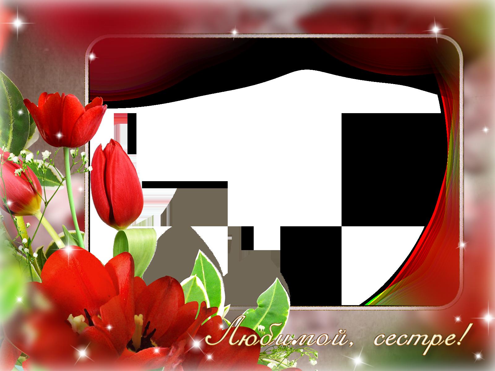 вставить фото в рамку с тюльпанами можно сварить вкусную
