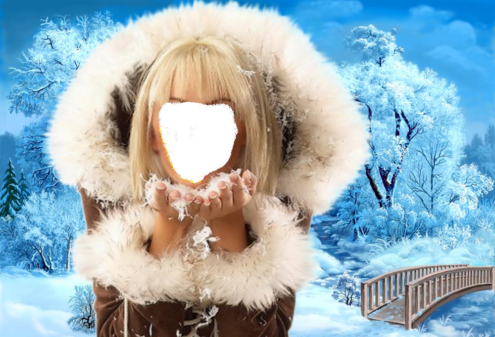 возникает вставить фото в картинку со снежинками витражей можно
