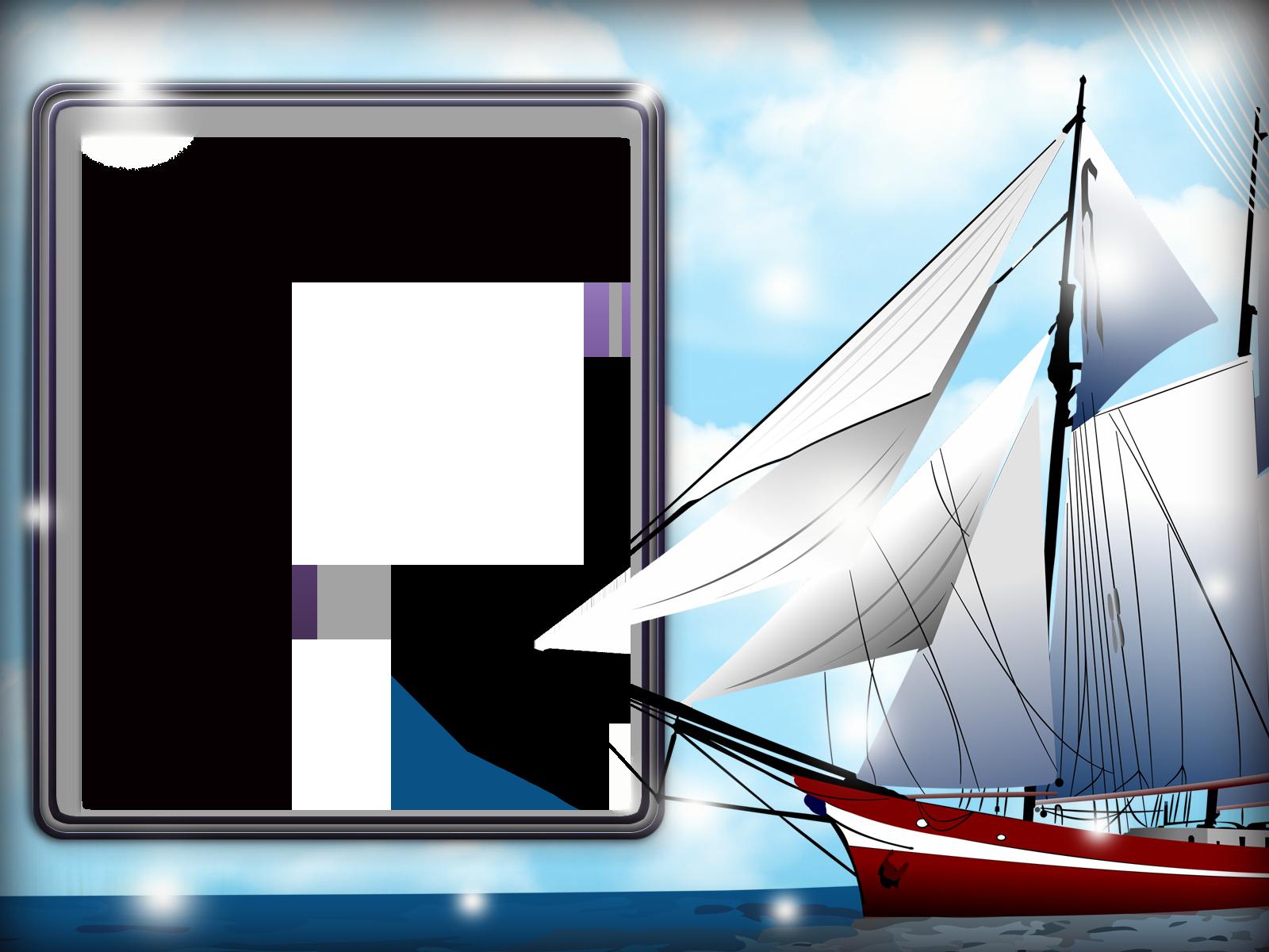 Фоторамка Фоторамка с парусником Фоторамка для фотошопа, PNG шаблон. Морская фоторамка с парусником. Кораблик, рамка для мальчиков, море.
