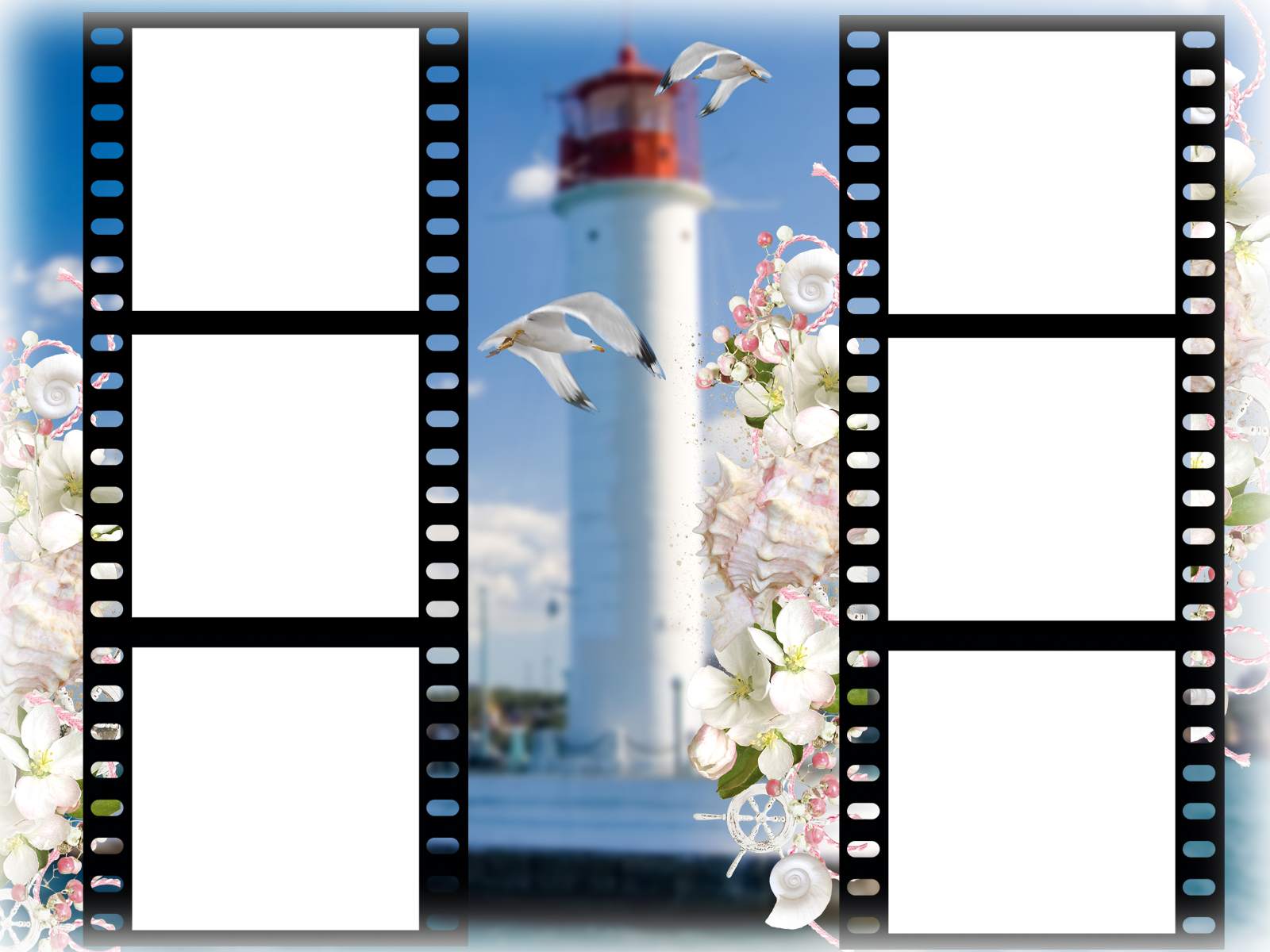 Шаблон для фото кинопленка